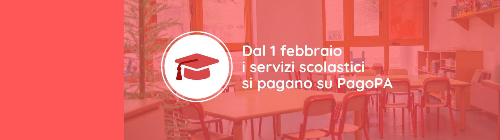 Pagamenti dei servizi scolastici su PagoPA