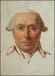 Ritratto di Filippo Mazzei, 1790 circa, olio su tela di Jacques-Louis David