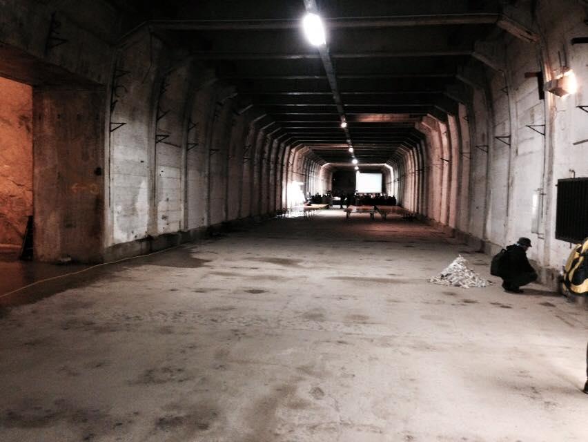 Le gallerie del campo KZ di Ebensee scavate nella roccia dai prigionieri