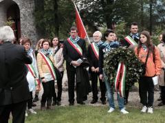 Ebensee cerimonia commemorazione 2015