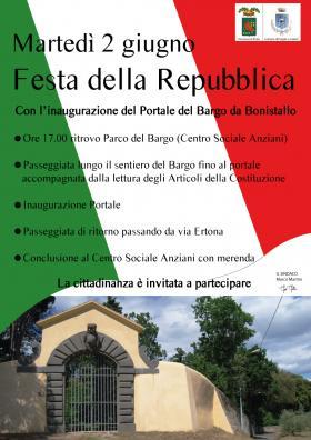 Festa della Repubblica 2015 e inaugurazione portal