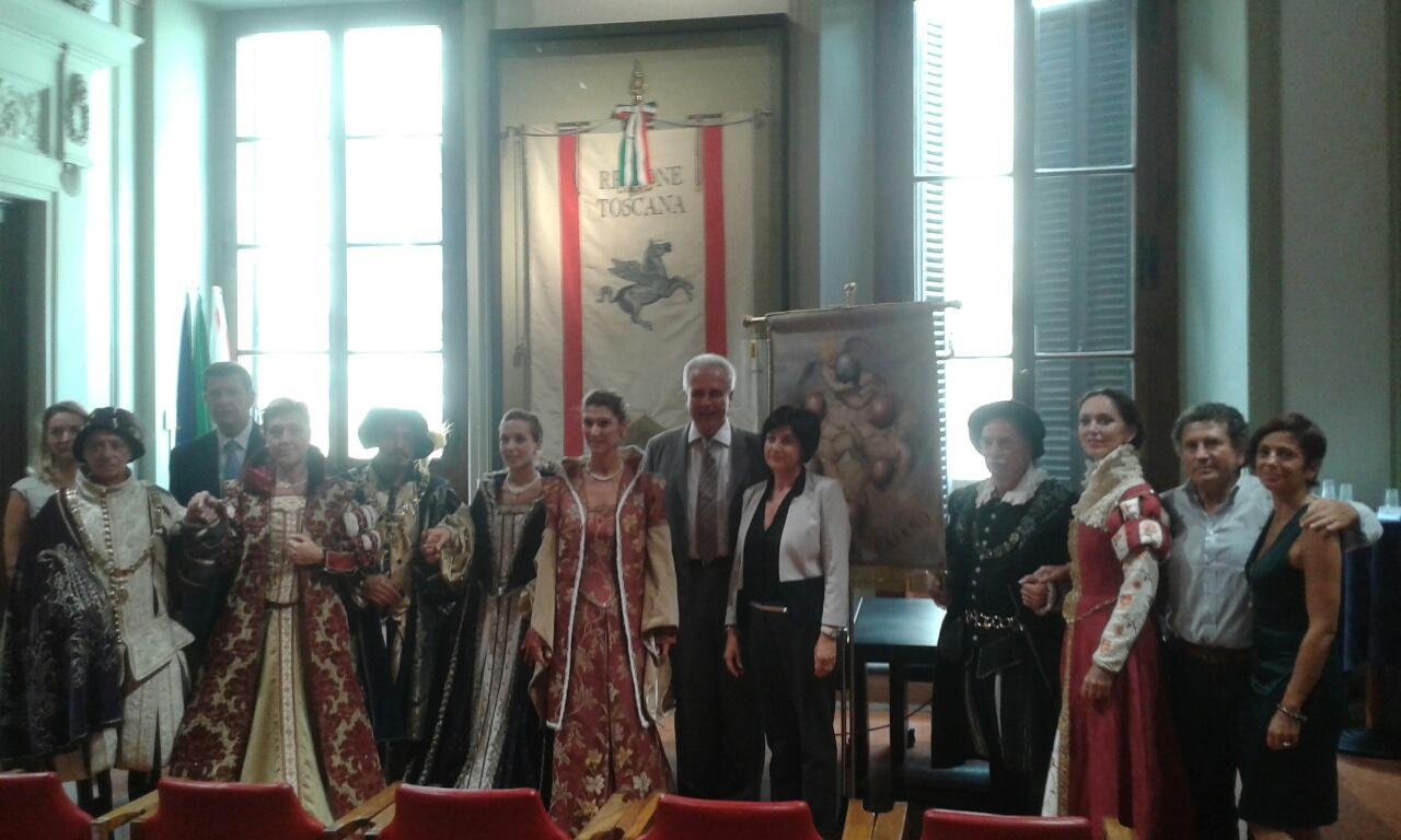 La presentazione dell'Assedio alla Villa 2015 di questa mattina a Palazzo Panciatichi