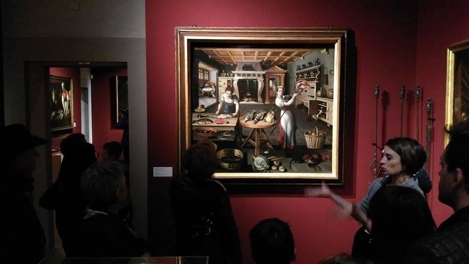 La visita di artigiani e commercianti alla mostra