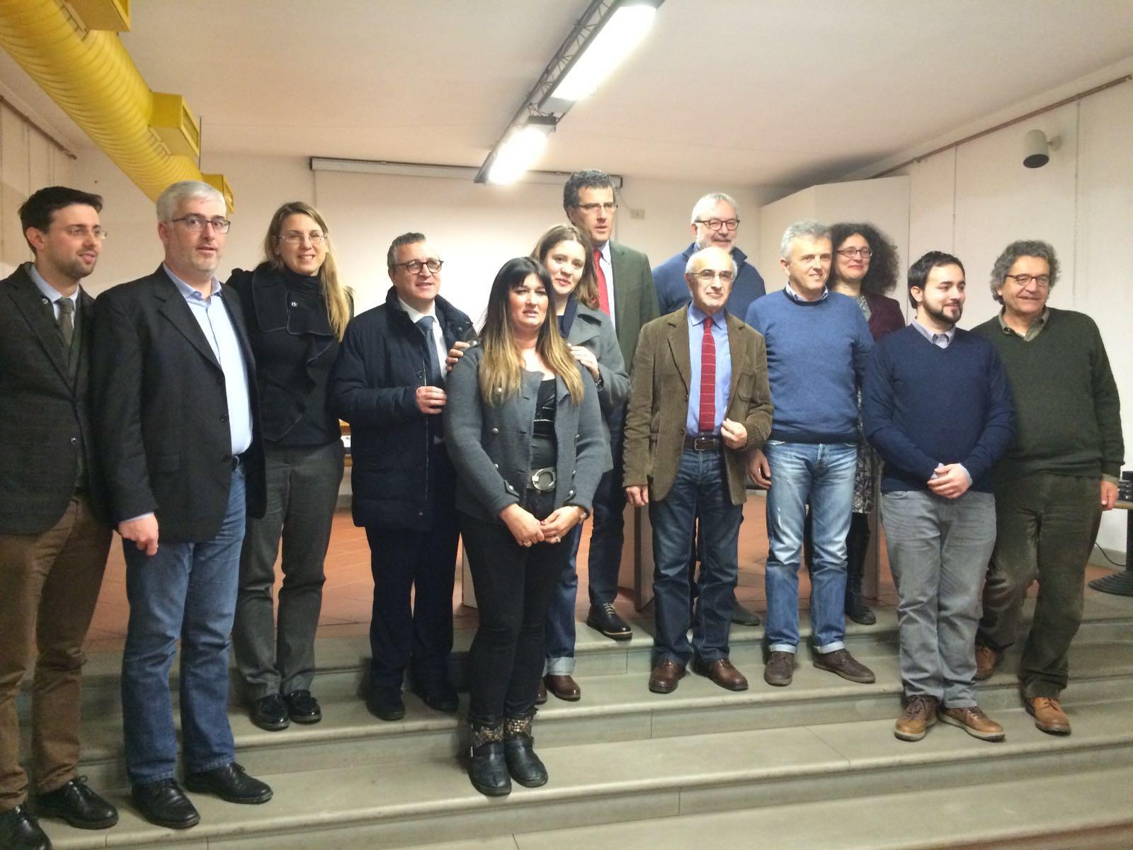 I firmatari del Protocollo d'intesa per il Biodistretto del Montalbano