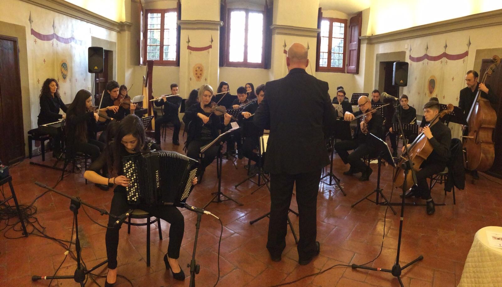 Orchestra scuola di musica \