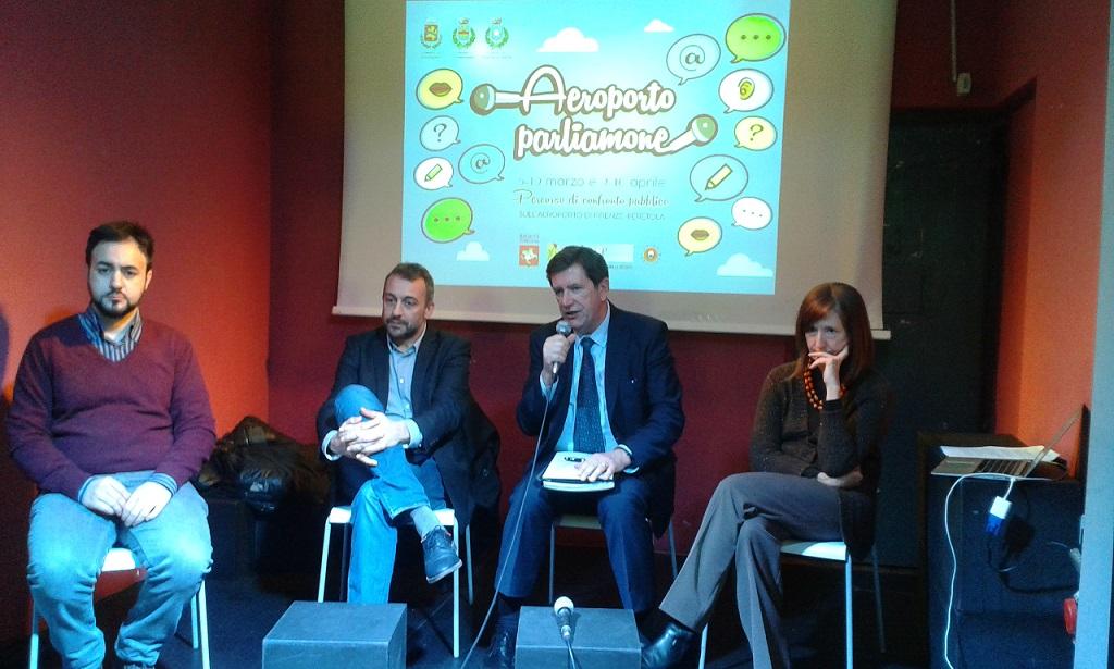 La conferenza stampa di presentazione del percorso di confronto