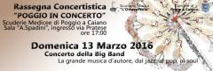 Poggio in Concerto 2016 - 13 marzo Big Band