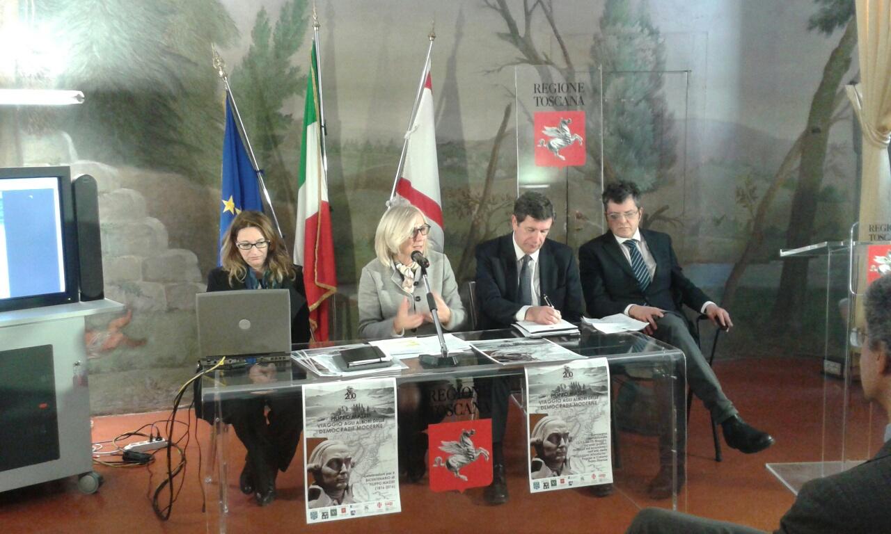 La conferenza stampa di presentazione delle celebrazioni per il bicentenario della morte di Filippo Mazzei