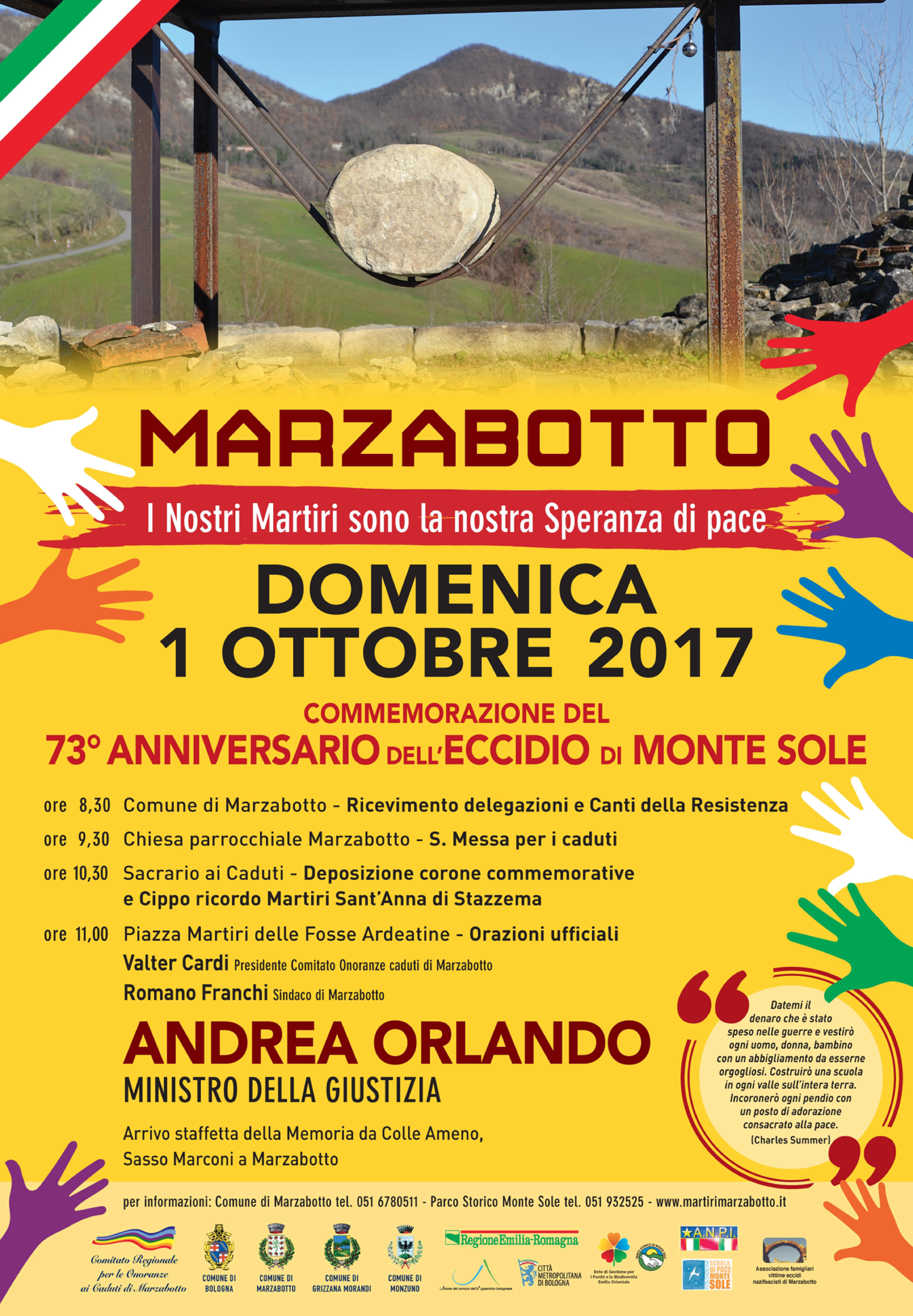 Commemorazione Marzabotto