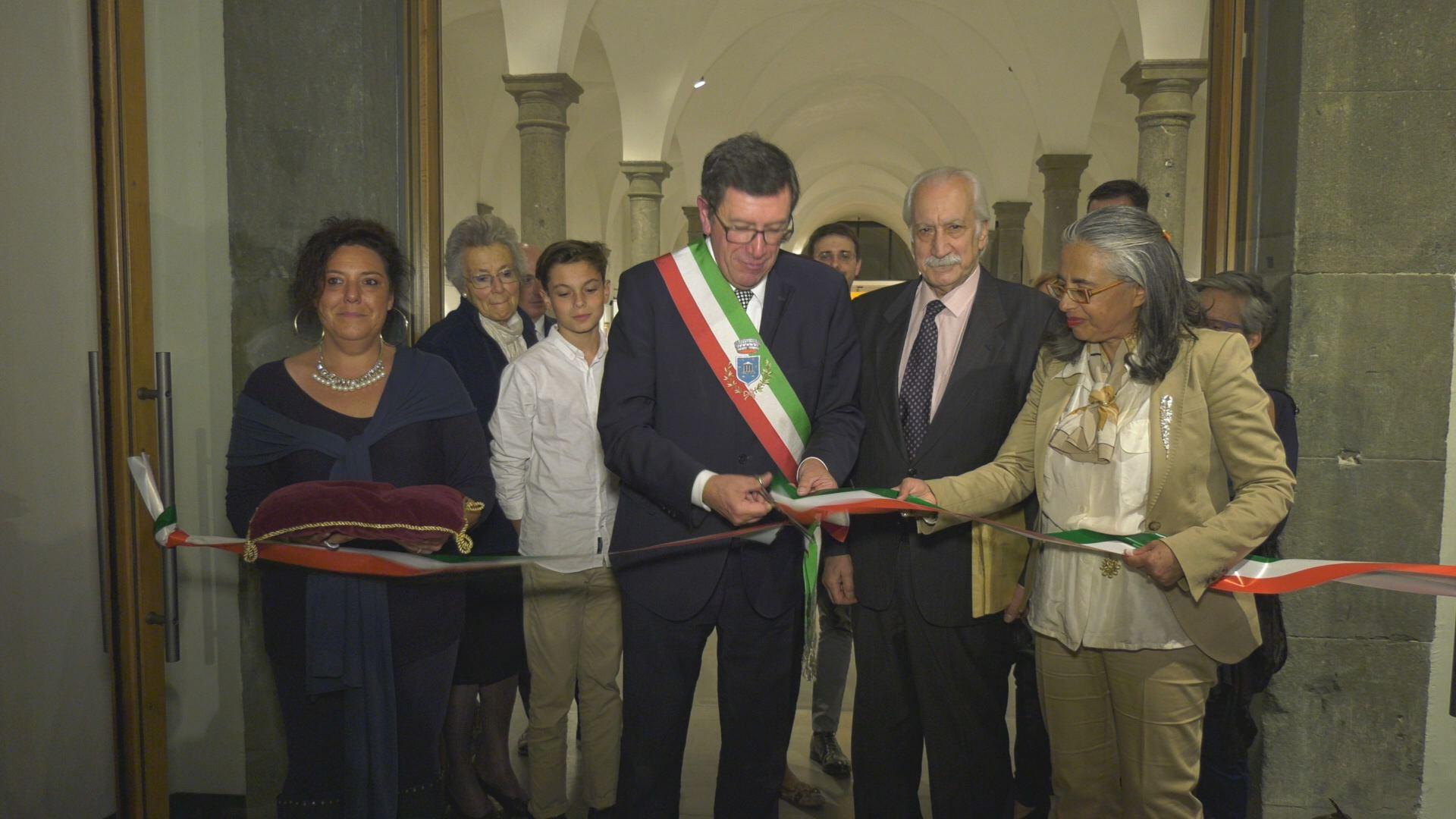 Inaugurazione Soffici e Rosai
