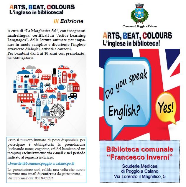 Inglese in biblioteca