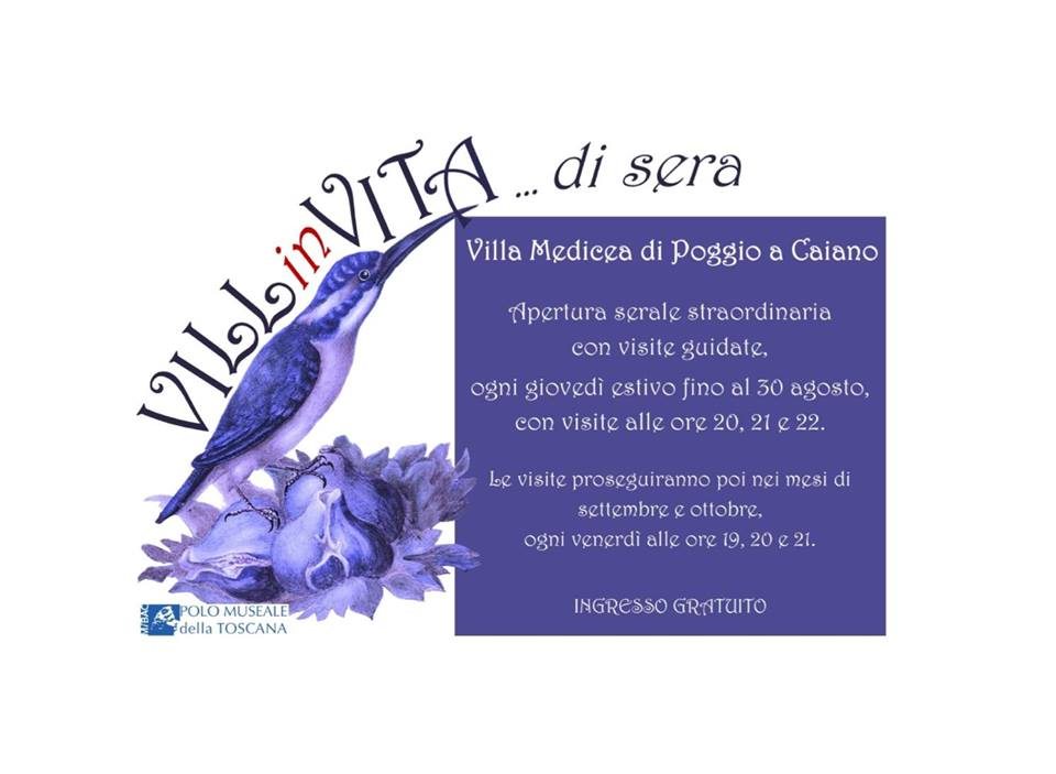 VILLinVITA Villa Medicea Poggio a Caiano