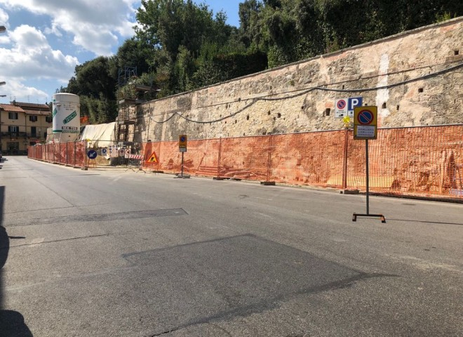 Muro Villa Medicea