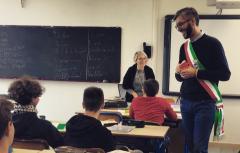 Consegna Dichiarazione Diritti Umani studenti