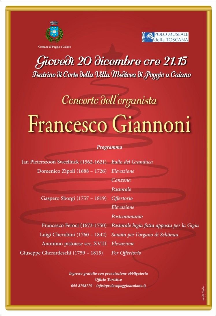 Locandina concerto organo
