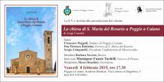 Locandina libro Chiesa S.Maria del Rosario