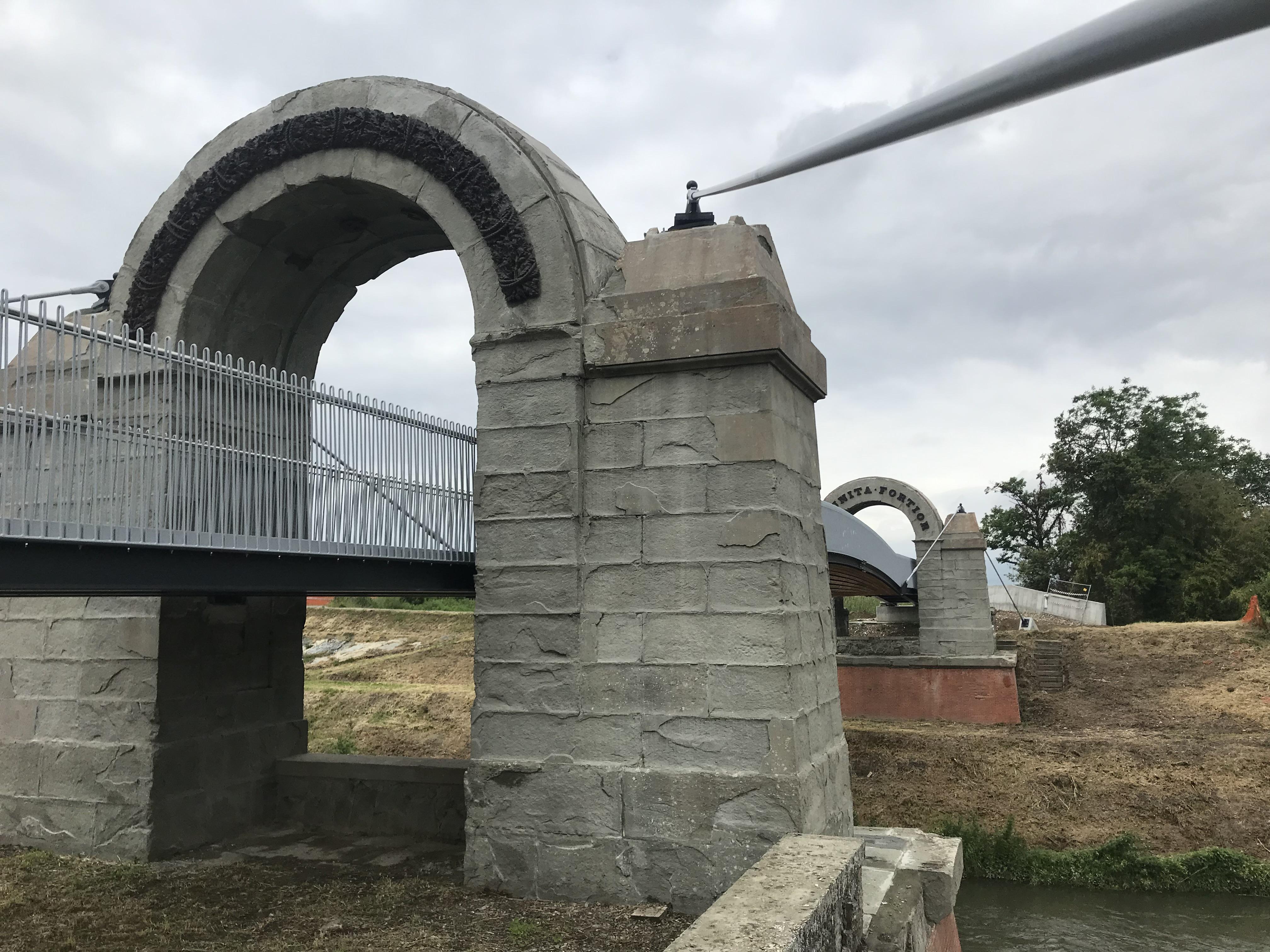 Ponte Manetti - arcata laterale