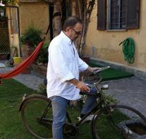 Luigi con bicicletta Soffici_2