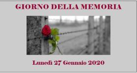 Giorno memoria 2020