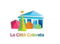 Logo città colorata