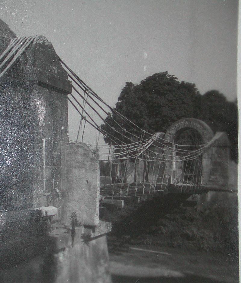 Il ponte negli anni '30
