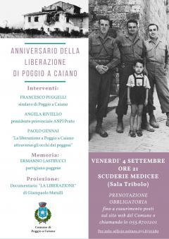 Il 4 settembre l\'anniversario della liberazione di