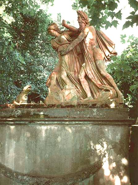 Statua Ambra e Ombrone