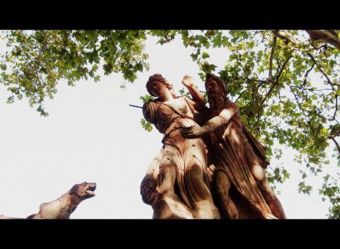 Statua di Ambra, Ombra e Ombrone